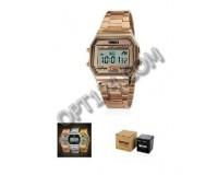 Часы наручные Skmei 1123 электронные (дата, будильник, секундомер), сталь, стекло, браслет, подсветка, CR2025