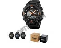 Часы наручные Skmei 1228 электронные (дата, будильник, секундомер), пластик, подсветка
