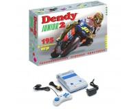 Приставка 8-bit Dendy Junior 2 195 встроенных игр, в комплекте 1 джойстик (15-pin), без пистолета