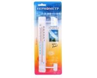 Термометр оконный - 24-104 (CH3009) крепление липучка (21037)