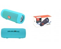 Акустическая система mini MP3 - J006 (CHARGE MINI) 5Вт Bluetooth, MP3, FM, microSD, USB, microUSB, AUX 3.5mm, встроенный аккумулятор 3.7V/1200mA, микрофон, размер 15.5 х 6 см, цветная