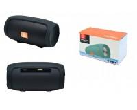 Акустическая система mini MP3 - J008 CHARGE MINI 5Вт Bluetooth, MP3, FM, microSD, USB, microUSB, AUX 3.5mm, встроенный аккумулятор 3.7V/1200mA, микрофон, размер 14 х 6.4 см, цветная