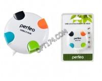 Концентратор USB (HUB) Perfeo PF-4284/PF-VI-H020 4 порта, White