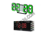 Часы будильник Perfeo PF-663/5198