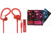 Наушники беспроводные - ST-002 внутриканальные заушные, Bluetooth, заушная Bluetooth-гарнитура, коробка, цветные