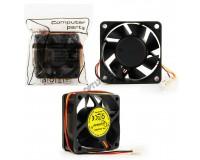 Вентилятор для корпуса Gembird D6025SM-3 60х60х25мм, 3pin Molex, провод 25 см, втулка, пакет