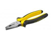 Плоскогубцы Spark Люкс 2203-1-20_z01 размер: 200мм комбинированная ручка, предназначены для выполнения столярных и слесарных работ (41869) черно-оранжевый