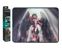 Коврик для мыши Defender Angel of Death M Игровой 360х270х3мм, термически обработанная ткань, натуральная резина, нескользящее основание