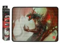 Коврик для мыши Defender Dragon Rage M Игровой 360х270х3мм, термически обработанная ткань, натуральная резина, нескользящее основание