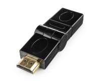 Переходник Cablexpert A-HDMI-FFL2 HDMI гнездо - HDMI штекер, с поворотным механизмом