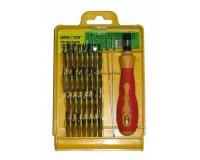Набор инструментов Impacter (Fatick) 6032E 32 насадки, пинцет, футляр для хранения