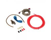 Комплект для установки 2-х канального усилителя Kuerl 2800 WATTS MAX, RCA-кабель тройной экран - 5м.