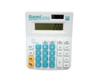 Калькулятор Gaona DS-800A-5C настольный, 8 разрядный, размер 11х14 см, белый