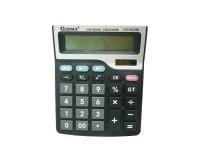 Калькулятор Gaona DS-9633B настольный, 12 разрядный, размер 15х19 см, черный