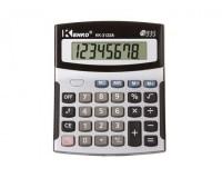 Калькулятор Kenko KK-3122A настольный, 8 разрядный, размер 13, 5х11 см, серебристый