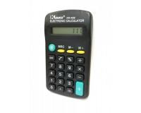 Калькулятор Kenko KK-402 карманный, 8 разрядный, размер 11х6, 3 см, черный