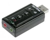 Звуковая карта Noname TRUA71 (C-Media CM108) 2.0 Ret внешняя через USB (ASIA USB 8C V & V)
