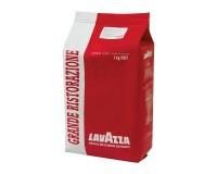Кофе в зернах LAVAZZA 621162 Grande Ristorazione Rossa 1000 г., натуральный, арабика 100%, средняя степень обжарки, вакуумная упаковка, 3104