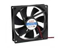 Вентилятор для корпуса LYF 92x92x25мм, 2pin 12V, втулка