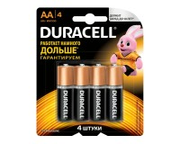 Батарейка Duracell LR6 BL 4 (CHINA)