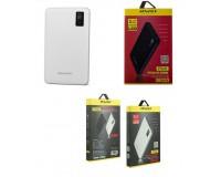 Портативное зарядное устройство Awei P56K 30000 мАч Выходной ток:1USB-1000мА , 2USB-2000мА, 3USB-2000mA ; входной ток: 2000мА, размер: 17.5*10.5*1.8 см , шнур USB-microUSB , пластик