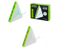 Концентратор USB (HUB) Perfeo PF-HYD-8029H-G 3 порта + Card Reader SD/MMC+Micro SD