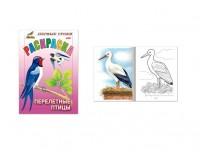 Книжка-раскраска Первые уроки HATBER R006727