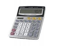Калькулятор Perfeo PF-A4029 бухгалтерский, 12 разрядный, размер 15, 5х20х3, 5 см, серебристый