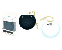 Акустическая система mini MP3 - G1 6Вт Bluetooth, MP3, FM, microSD, USB, microUSB, встроенный аккумулятор 3.7V размер 8.5 х 3 см, цветная