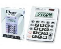 Калькулятор Kenko KK-3181A настольный, 8 разрядный, размер 12х9.5 см, цветные