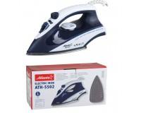 Утюг Atlanta ATH-5502 1600Вт, сталь, вертикальный пар, голубой