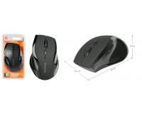 Мышь беспроводная Defender MM-295 Accura USB Optical (800/1600dpi) черная, 5 кнопок+кнопка-колесо, блистер