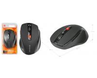 Мышь беспроводная Defender MM-315 Ultra USB Optical (800/1600dpi) черная, 5 кнопок+кнопка-колесо, блистер (52315)