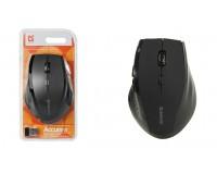 Мышь беспроводная Defender MM-365 Accura USB Optical (800/1600dpi) черная, 5 кнопок+кнопка-колесо, блистер