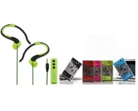 Наушники беспроводные - ST-001 внутриканальные заушные, Bluetooth 4.2 NFC, HFP, HSP, A2DP, цветные, коробка