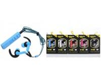 Наушники беспроводные - ST-006 внутриканальные (заушные), Bluetooth, заушная Bluetooth-гарнитура, коробка, цветные