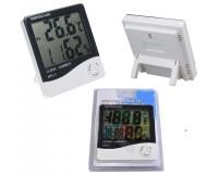 Метеостанция Орбита HTC-1 дисплей термометр-гигрометр (часы, будильник)