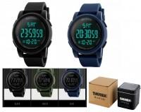 Часы наручные Skmei 1257 электронные (дата, будильник, секундомер, таймер), пластик, подсветка