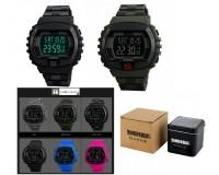 Часы наручные Skmei 1304 электронные (дата, будильник, секундомер, таймер), пластик, подсветка