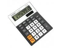 Калькулятор Kadio KD-3860B настольный, 12 разрядный, размер 15х11 см, черный-белый