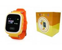 Часы Smart - GP-02 детские с GPS, кнопка SOS, громкость, электронный забор желтые