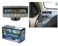 Часы автомобильные VST 7045 дата, время, будильник, темпратура внутренняя и наружная, подсветка
