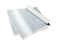 Бумага масштабно-координатная ЛИЛИЯ ХОЛДИНГ ПМБ количество листов: 1, упаковка: 300 л, размер 400х600 мм., плотность бумаги - 80 г/м2. (120288) линовка: синяя
