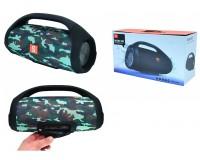 Акустическая система mini MP3 - BOOMSBOX 15Вт Bluetooth, MP3, FM, microSD, USB, microUSB, AUX-3.5мм встроенный аккумулятор 3.7V/10000mA, размер 30 х 11, 5 см, цветная
