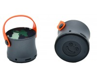 Акустическая система mini MP3 - BT-03 3.0Вт Bluetooth, MP3, FM, microSD, microUSB, AUX-3.5мм встроенный аккумулятор 3.7V/500 мА размер 6 х 5.5 см, цветная