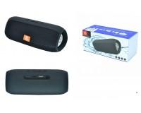 Акустическая система mini MP3 - E16+ 6Вт Bluetooth, MP3, FM, microSD, microUSB, AUX-3.5мм встроенный аккумулятор 3.7V/1200 мА размер 17 х 7 см, цветная