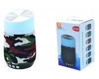 Акустическая система mini MP3 - HS-002 3.0Вт Bluetooth, MP3, FM, microSD, microUSB, AUX-3.5мм встроенный аккумулятор 3.7V/800 мА размер 15 х 9 см, цветная
