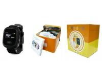 Часы Smart - GP-02 детские с GPS, кнопка SOS, громкость, электронный забор черные
