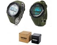 Часы наручные Skmei 1025-1 электронные (дата, будильник, секундомер), пластик, подсветка