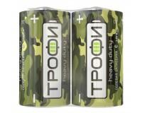 Батарейка Трофи R14 Shrink 2 Классика